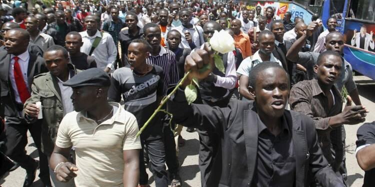 Manifestation à Nairobi après le massacre de Garissa