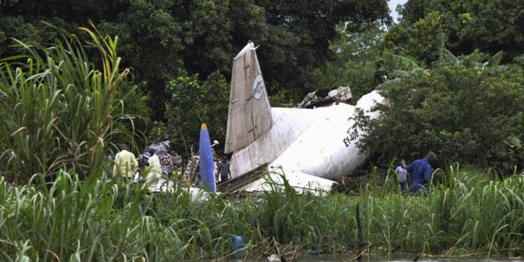 Un avion cargo russe s'écrase au Soudan du Sud