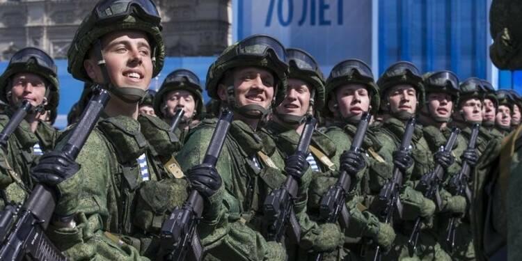 La Russie pavoise pour l'anniversaire de la capitulation nazie