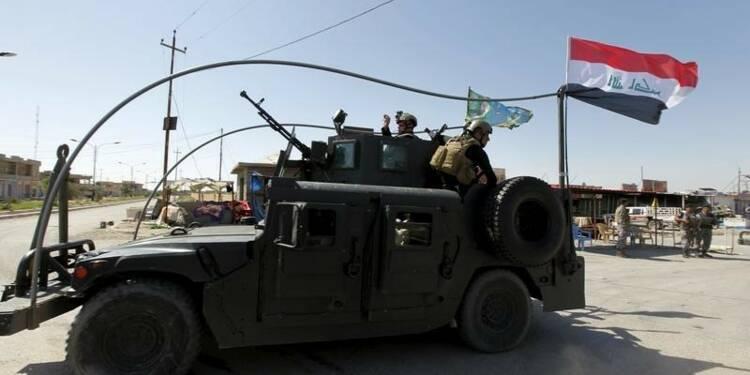 Reprise de l'offensive des forces irakiennes à Tikrit