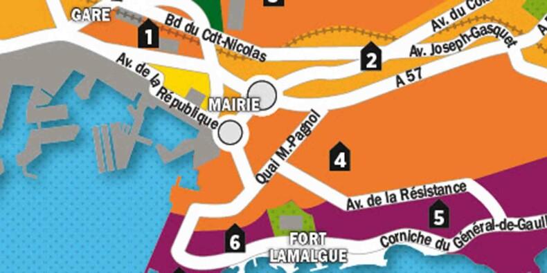 Immobilier : la carte des prix de Toulon