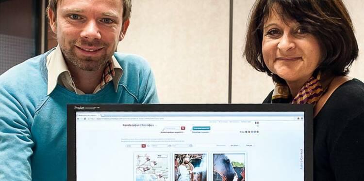 Pierre-Jeremy Gardiner et Pascale Fildier : ils explorent le tourisme collaboratif