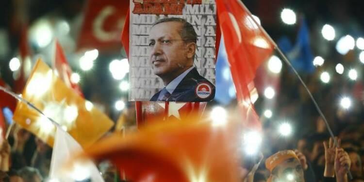 Pari réussi pour le président Recep Tayyip Erdogan en Turquie