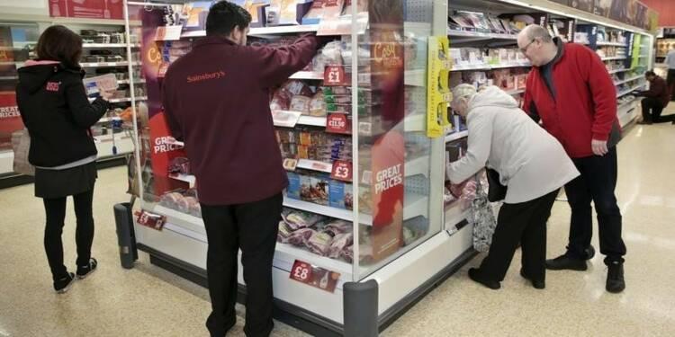 Baisse des ventes au détail en Grande-Bretagne