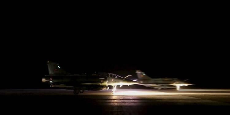 La France mène de nouvelles frappes contre l'EI en Syrie