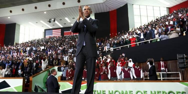 Barack Obama encourage les Kényans et leur fixe des objectifs