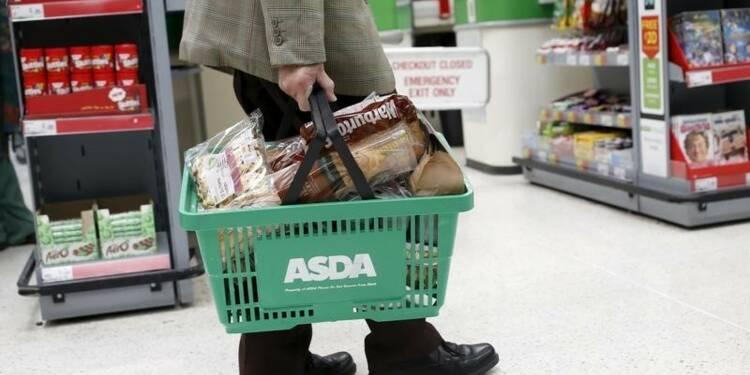 Retour en territoire négatif de l'inflation britannique