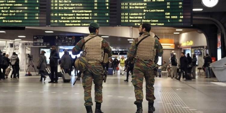 Etat d'alerte maximale à Bruxelles pour menace imminente