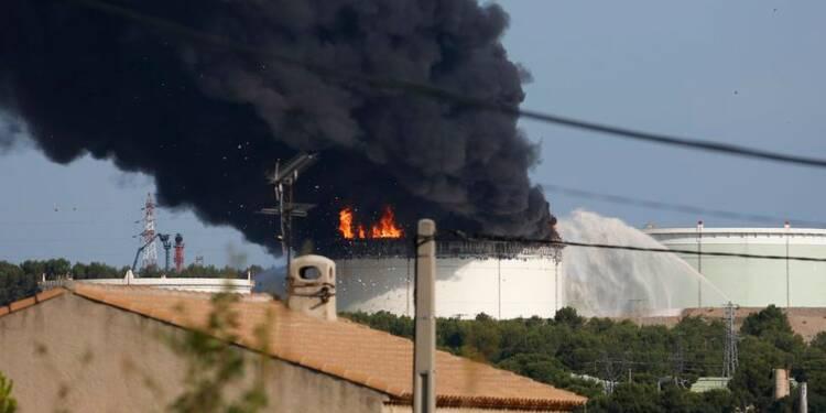 L'explosion sur le site pétrochimique à Berre, un acte criminel