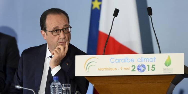 Hollande lance un appel face au défi du changement climatique