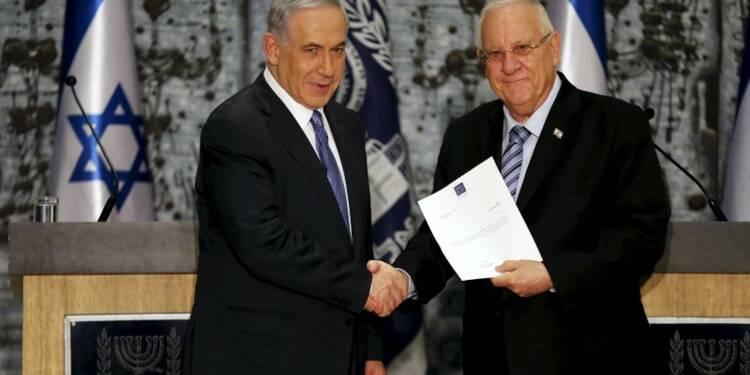 Benjamin Netanyahu chargé de former le gouvernement israélien