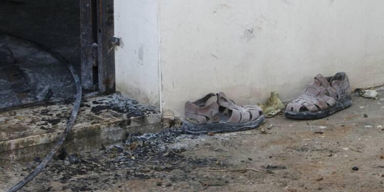 Détention d'un militant israélien après l'incendie en Cisjordanie