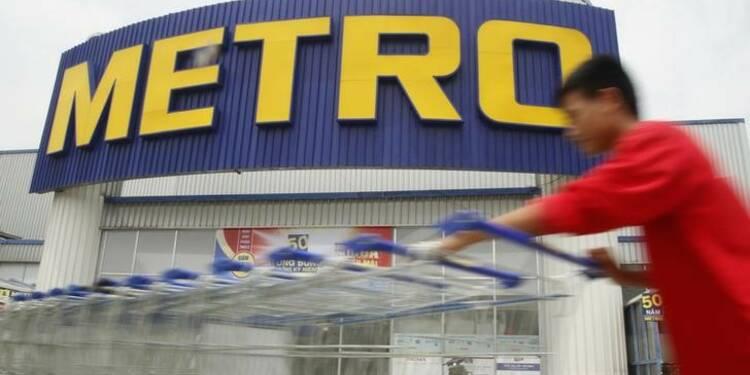 Metro confiant pour la période de Noël, le titre grimpe