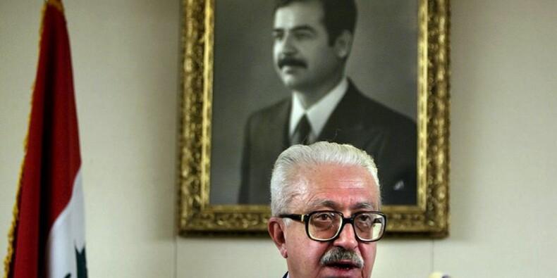Décès de l'ex-chef de la diplomatie irakienne Tarek Aziz