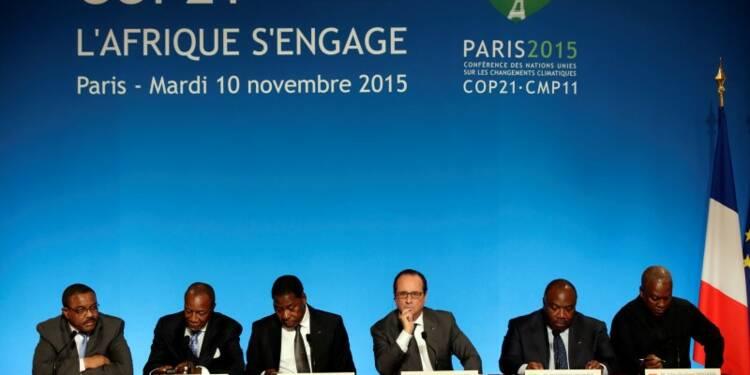 Réunion africaine préparatoire à la COP21 à l'Elysée