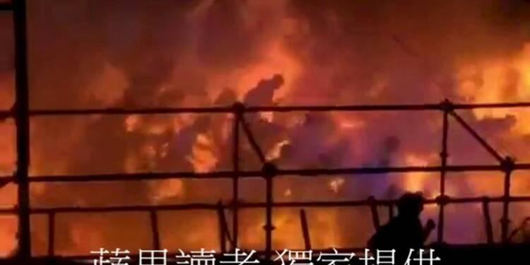 Une explosion dans un parc de loisirs à Taiwan fait 498 blessés