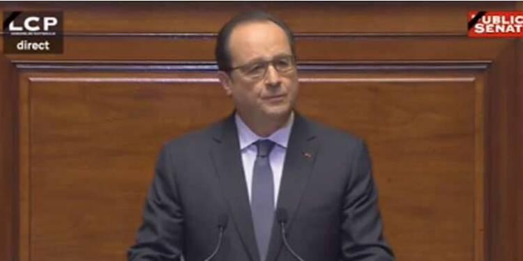EN DIRECT : le discours de François Hollande devant le Congrès