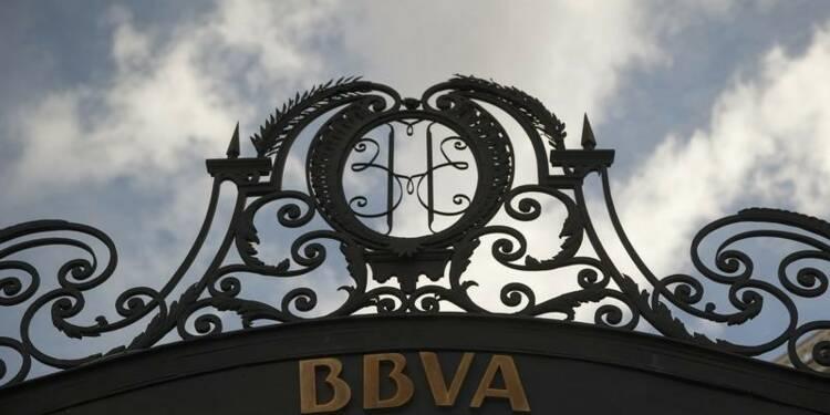 BBVA a plus que doublé son bénéfice net au 1er semestre