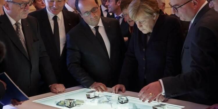 Hollande et Merkel veulent accélérer l'Europe numérique