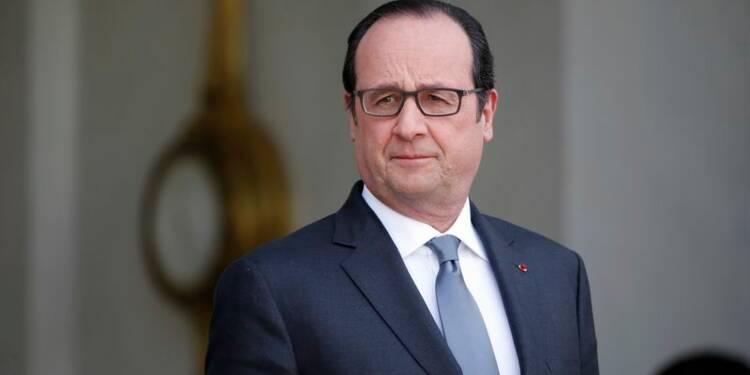 François Hollande perd 4 points dans le baromètre Opinionway