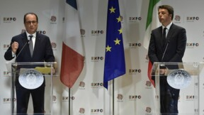 Rome et Paris affichent leur unité sur le dossier des migrants