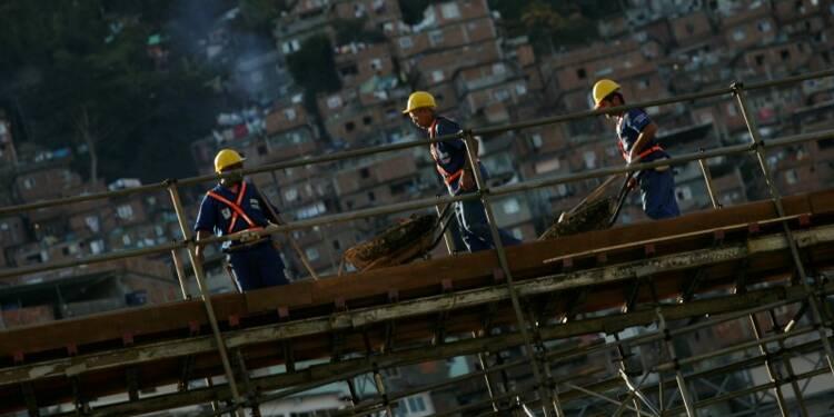Plan de 57 milliards d'euros pour des infrastructures au Brésil