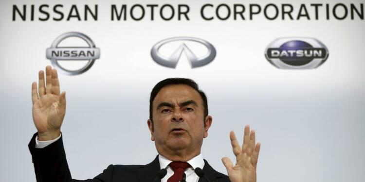 Nissan voit son bénéfice augmenter de 15% en 2015-2016