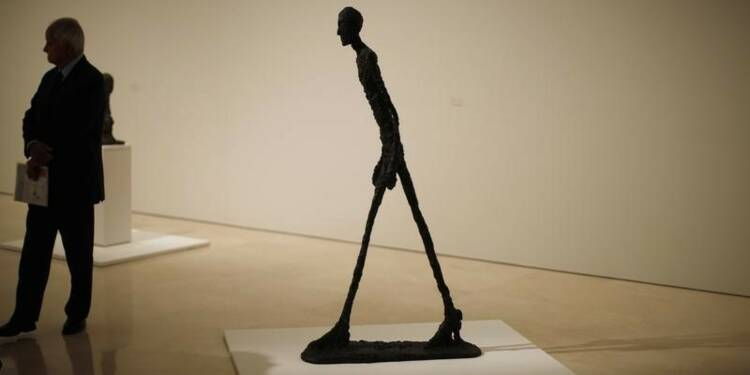 Christie's espère $130 millions d'une sculpture de Giacometti