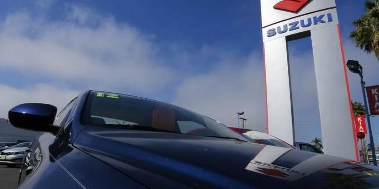 Le bénéfice annuel de Suzuki en recul, rebond attendu en 2015