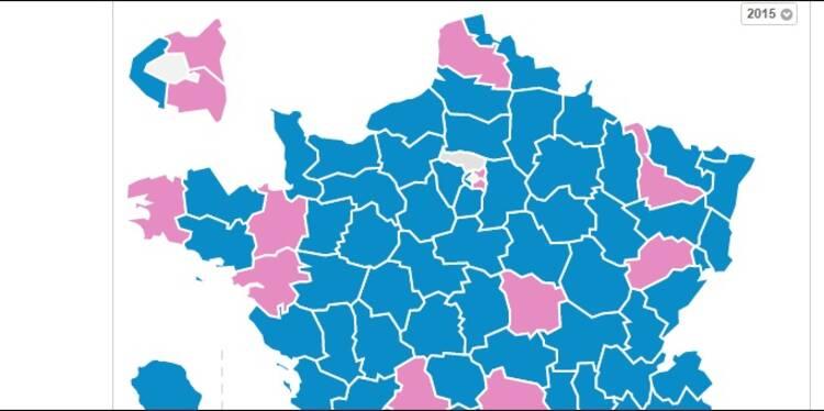 Départementales 2015 : raz-de-marée à droite, les résultats canton par canton