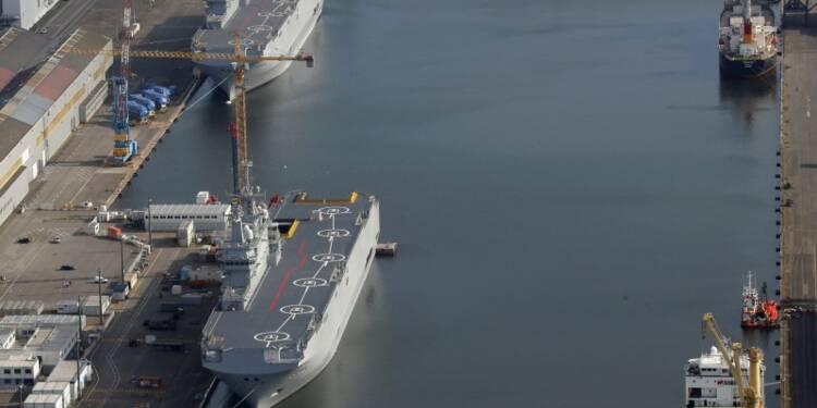 """Discussions """"avancées"""" sur la revente des deux navires Mistral"""
