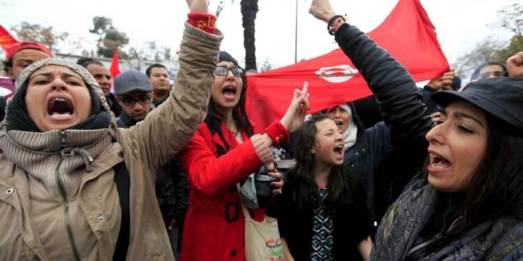 Marche et cérémonie de réouverture symbolique au Bardo, à Tunis