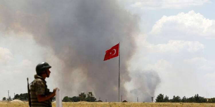 En visant l'EI, Erdogan voit l'occasion d'en finir avec le PKK