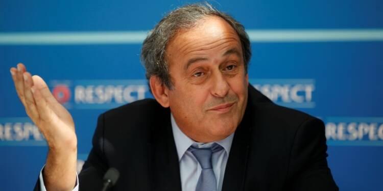 La Fédération anglaise de football lâche Michel Platini