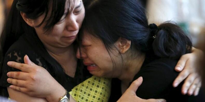 Le bilan du naufrage sur le Yangtsé porté à près de 400 morts