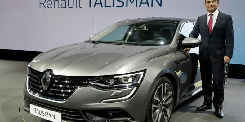 Renault mise sur la Talisman pour faire de l'ombre aux Allemands