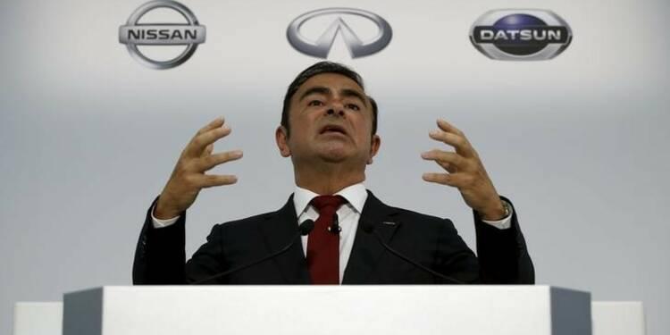 Nissan a versé 7,4 millions d'euros à Carlos Ghosn en 2014