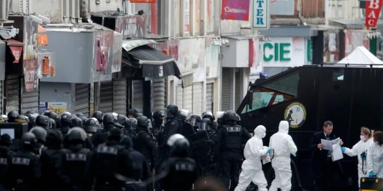 A Saint-Denis, les habitants réveillés par des scènes de guerre