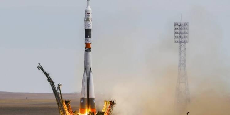 Un trio en route vers l'ISS, dont le premier astronaute danois