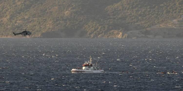 Au moins 16 noyés et 34 disparus dans le naufrage près de Lesbos