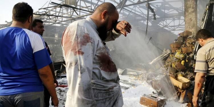 Attentat de l'Etat islamique à Bagdad, au moins 76 morts