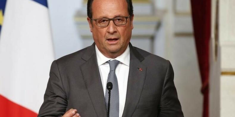 Hollande attendu devant la presse sur la Syrie et la fiscalité