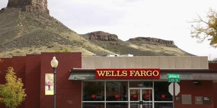 Des provisions plombent le 2e trimestre de Wells-Fargo