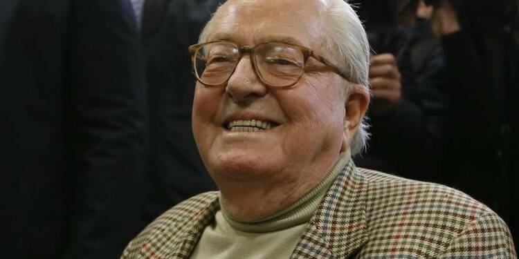 Jean-Marie Le Pen hospitalisé pour un problème cardiaque