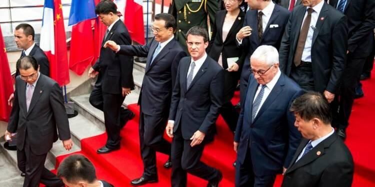 Pluie de contrats chinois pour les entreprises françaises
