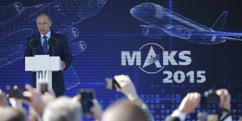 Ouverture à Moscou du salon aéronautique MAKS