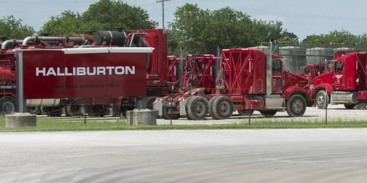 Nette baisse du bénéfice trimestriel de Halliburton