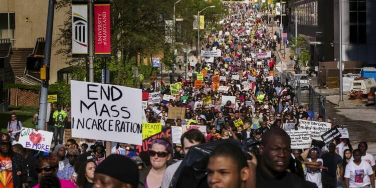 Marche à Baltimore, où la colère a fait place à l'espoir