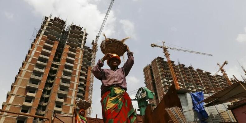 La croissance de l'économie indienne ralentit plus que prévu
