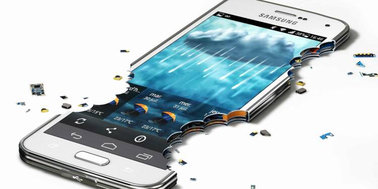Les mobiles Samsung, un empire ébranlé